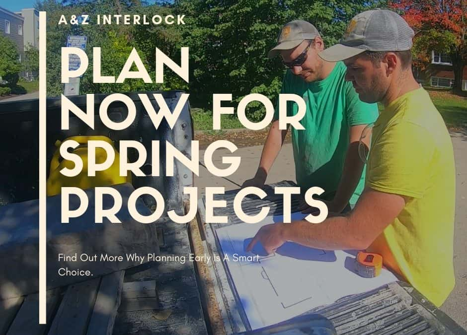 Spring Landscape Project – Design in Winter