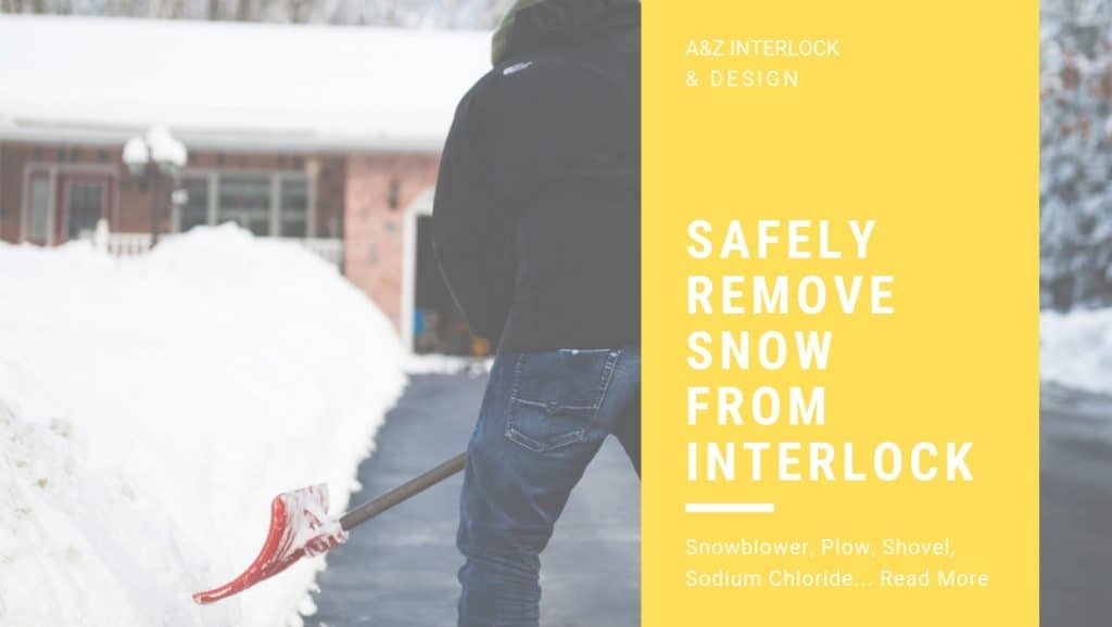 Safely Remove Snow From Interlock Guide