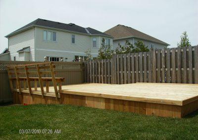 flat deck side