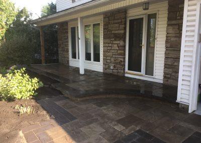 front interlock porch
