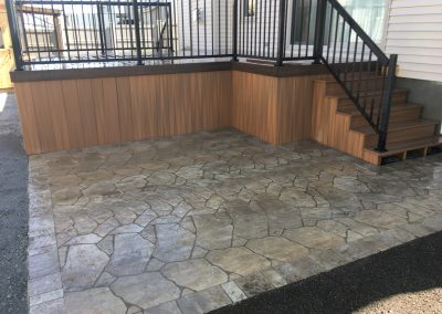 flagstone patio 2