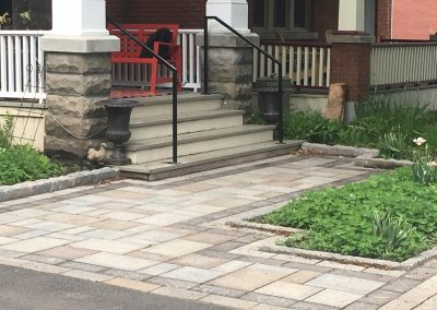 front patio interlock