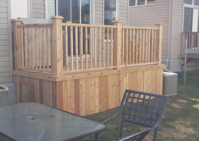 small back deck