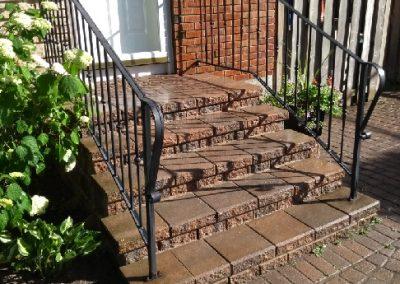 interlock front step