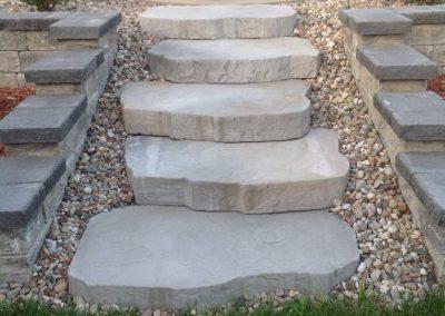 armour stone stairs