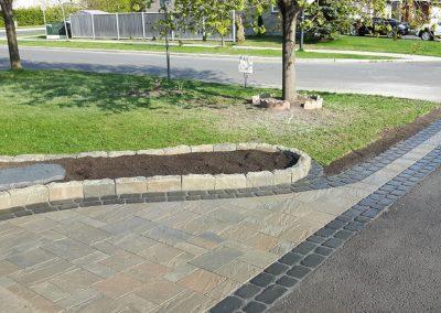 driveway widening interlock
