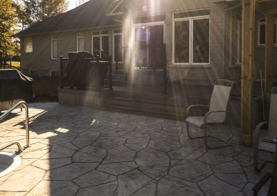 backyard flagstone