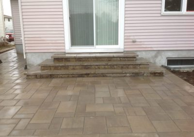 patio stairs
