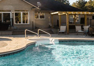 pool landscape icon