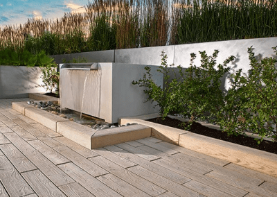 techo water feature
