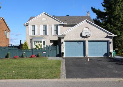 front yard landscape package