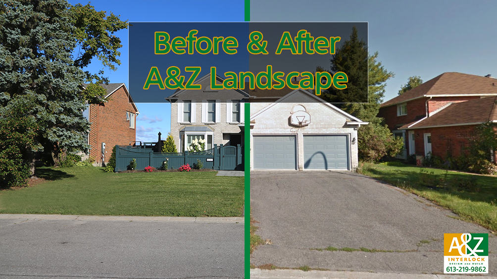 Incredible Orleans Before & After Landscape Transformation