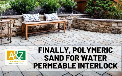 Polymeric Sand For Water Permeable Interlock