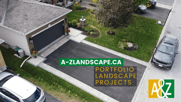 driveway extension front entrance landscape portfolio featured image