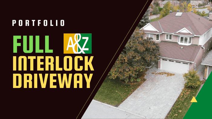 full interlock driveway featured image