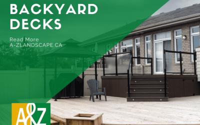 Backyard Decks In Ottawa
